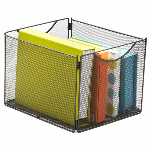 Safco Products Company Onyx  Mesh Cube Bins