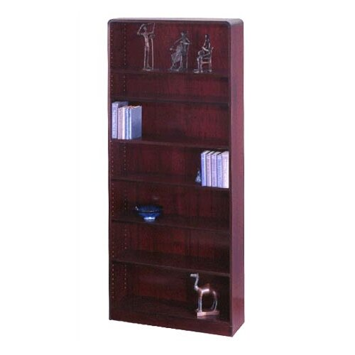 "Safco Products Company Radius-Edge 84"" Bookcase"
