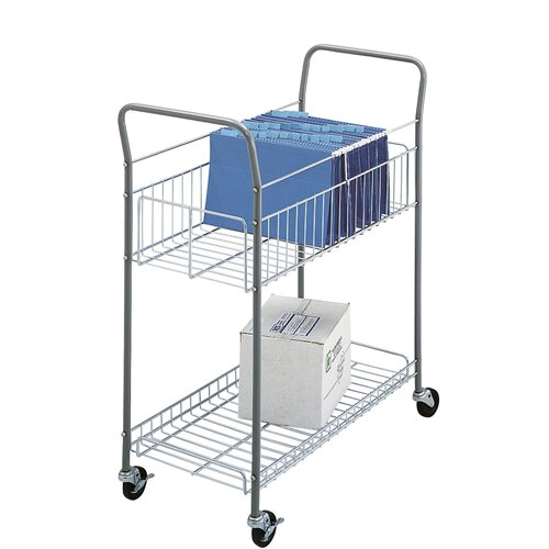 """Safco Products Company Economy 38.75"""" Mail Cart"""