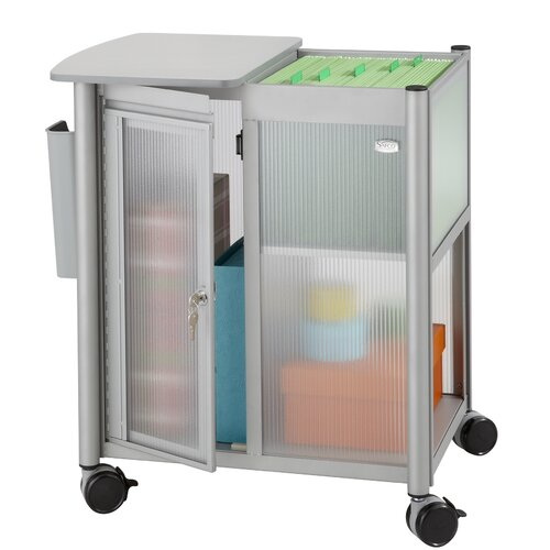 """Safco Products Company Impromptu 26.75"""" Personal Mobile Storage Center"""
