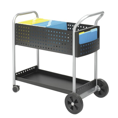 "Safco Products Company Scoot 40.75"" Mail Cart"