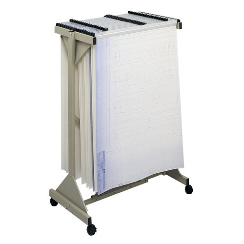 Safco Products Company Safco Sheet File Mobile Plan Center Filing Cart