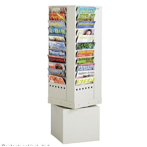 Safco Products Company 44 Pocket Magazine Rack