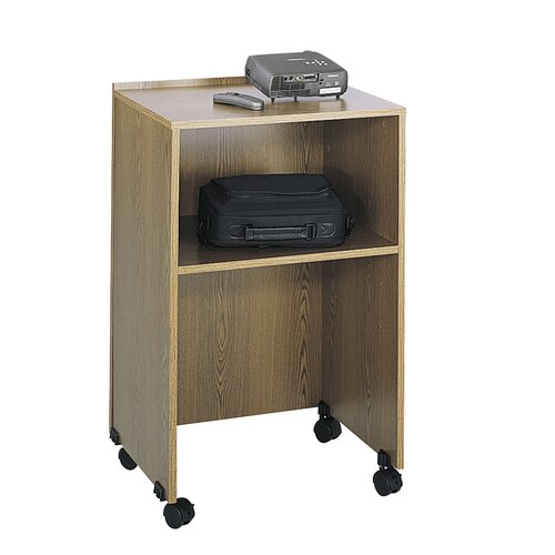 Safco Products Company Media Cart Full Podium