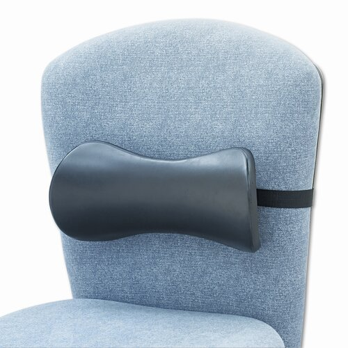 Safco Products Company Memory Foam Backrest with Lumbar Support