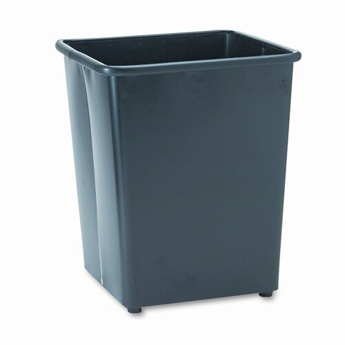 Safco Products Company 31 Quart Square Wastebasket