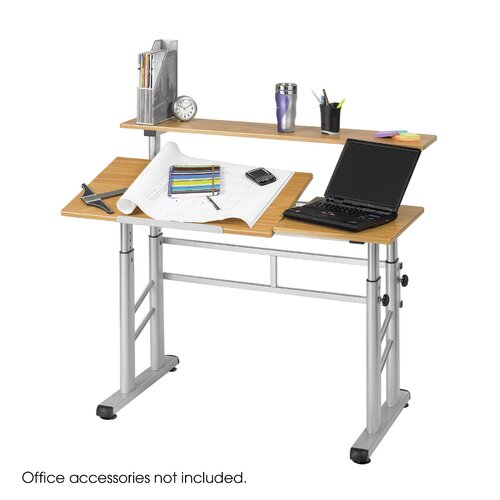 Safco Products Company Adjustable Split Level Workstation