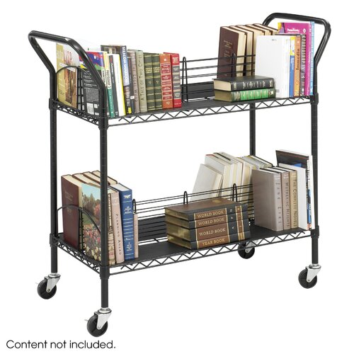 Safco Products Company Wire Book Cart