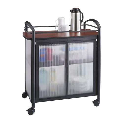 "Safco Products Company Impromptu 37"" Refreshment Cart"