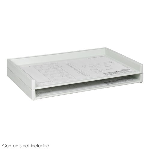 "Safco Products Company Giant Stack Flat File Trays, 39"" Wide"
