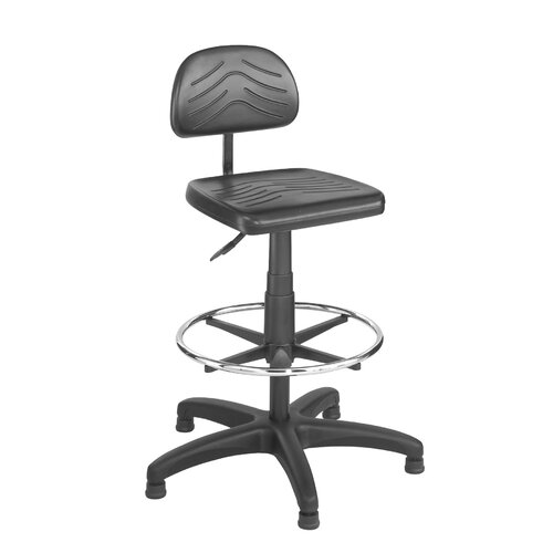 Safco Products Company Taskmaster Economahogany Workbench Chair