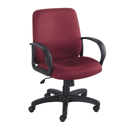 Safco Products Company Poise Executive Mid-Back Seat