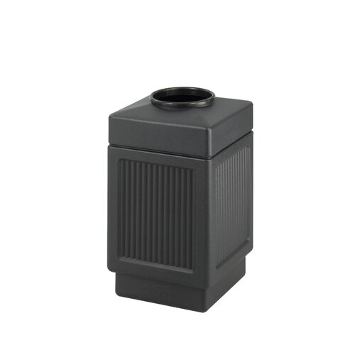 Safco Products Company Canmeleon Top-Open Square Receptacle