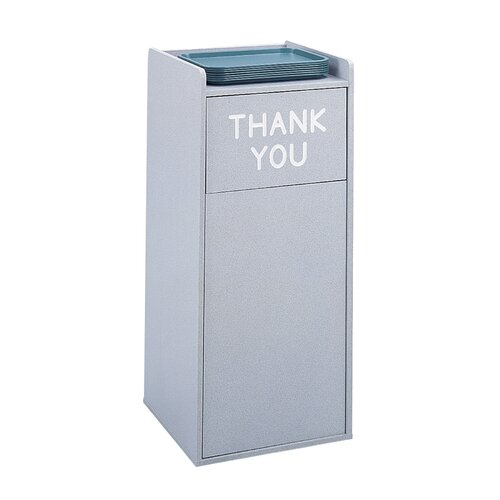 Safco Products Company Tray Top Wood Waste Receptacle