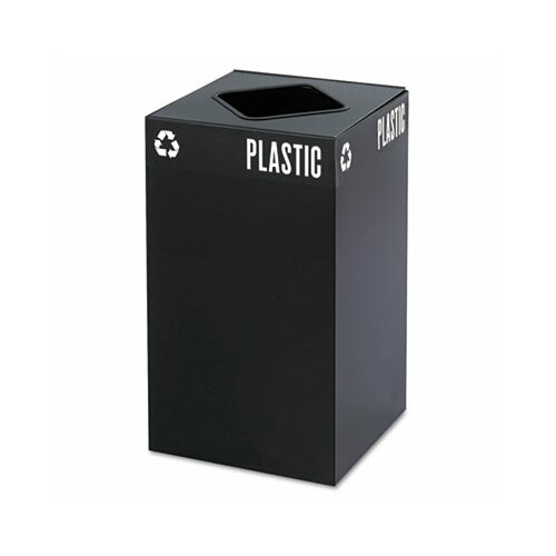 Safco Products Company Public Square Industrial Recycling Bin