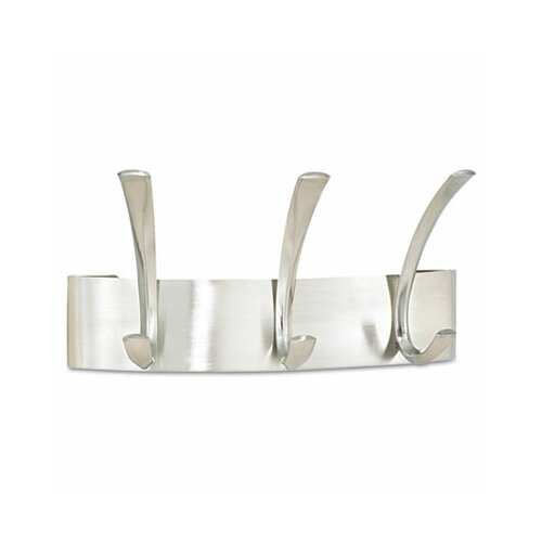 Safco Products Company Metal 3 Hook Coat Rack