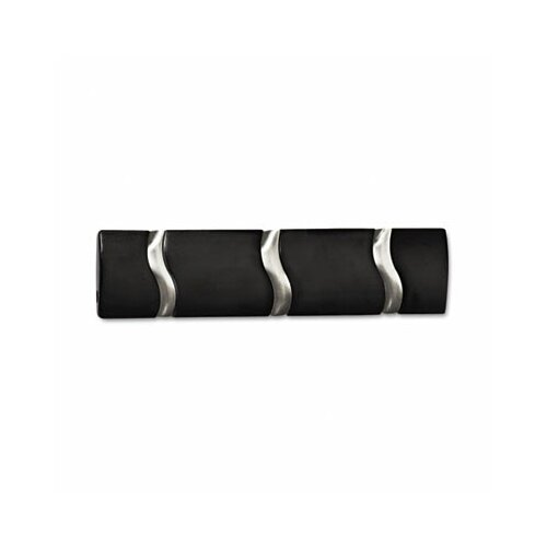 Safco Products Company Designer Coat Rack with 3 Hooks