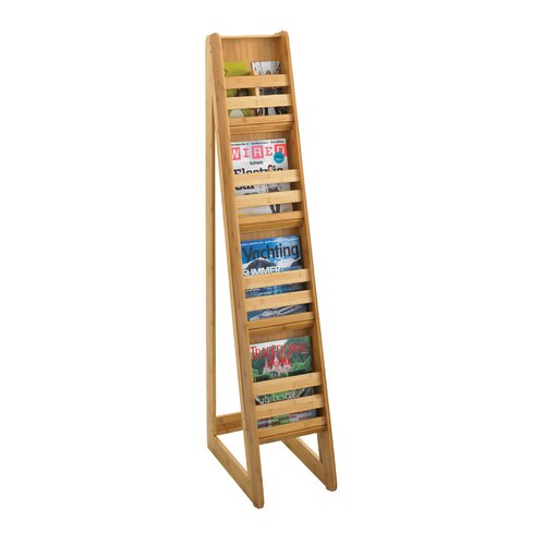 Safco Products Company Bamboo Magazine Stand