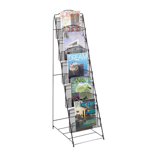 Safco Products Company Onyx Floor Rack