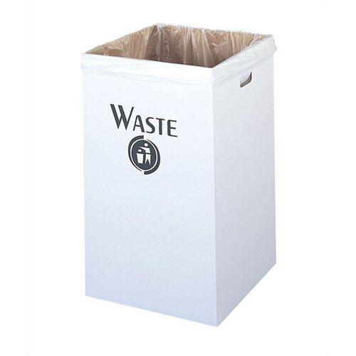 Safco Products Company Corrugated Waste Square Receptacle