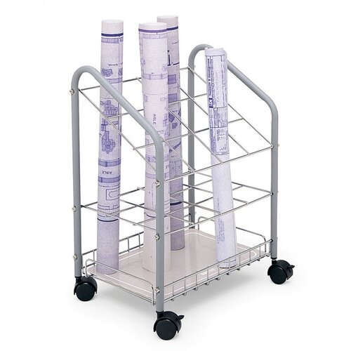 Safco Products Company 12 Compartments Wire Roll File