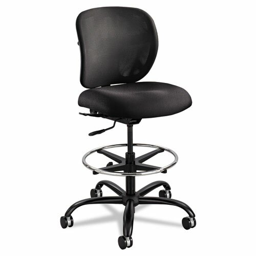 Safco Products Company Mid-Back Mesh Vue Drafting Chair