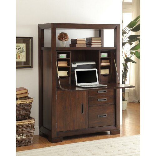 Amazing Riverside Furniture Cantata Computer Armoire Amp Reviews  Wayfair