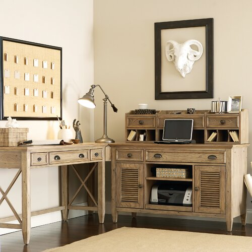 Riverside Furniture Coventry L-Shape Writing Desk Office Suite