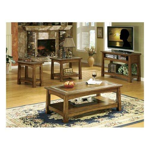 Riverside Furniture Craftsman Home End Table