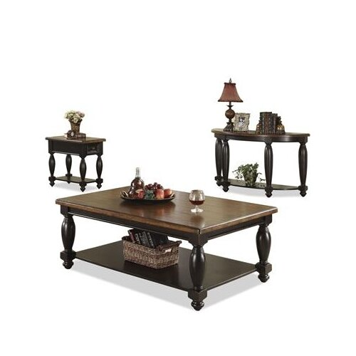 Riverside Furniture Delcastle Demilune Console Table