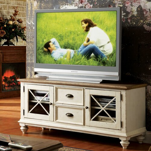 "Riverside Furniture Coventry Two Tone 60.5"" TV Stand"
