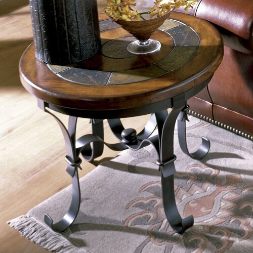Riverside Furniture Stone Forge End Table