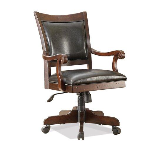 Riverside Furniture Castlewood Mid-Back Desk Chair with Arm