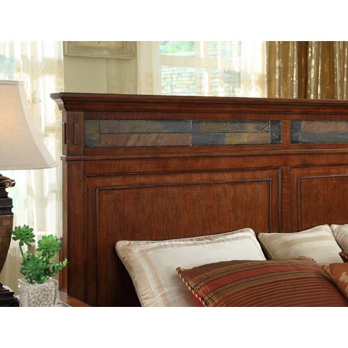 Riverside Furniture Craftsman Home Panel Headboard