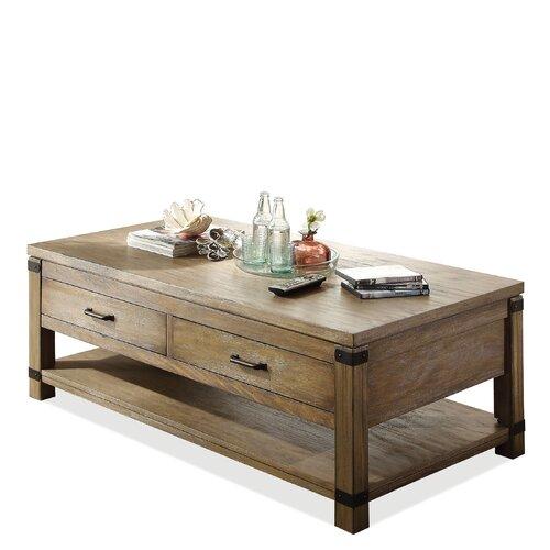 riverside furniture bay cliff coffee table reviews wayfair