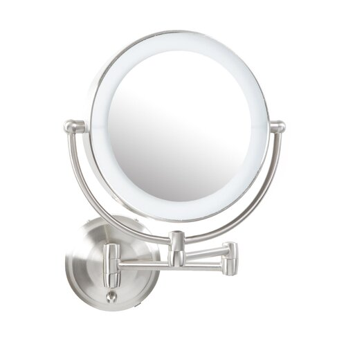 Zadro Round Mirror With Led Surround Light Amp Reviews Wayfair