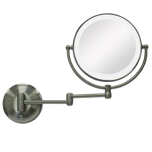 Zadro Round Mirror with LED Surround Light