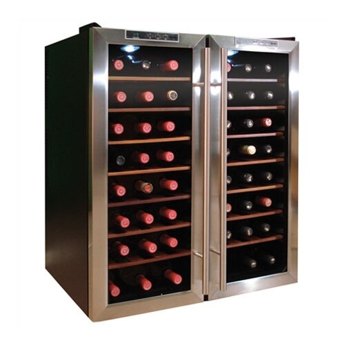48 Bottle Dual-Zone Thermoelectric Wine Cooler