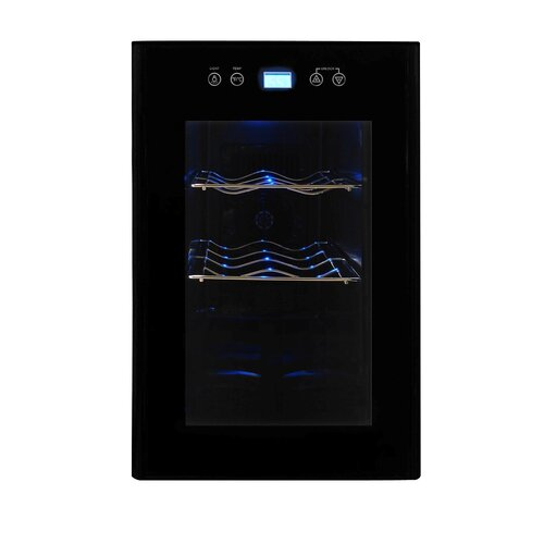 Vinotemp 8 Bottle Single Zone Thermoelectric Wine Refrigerator