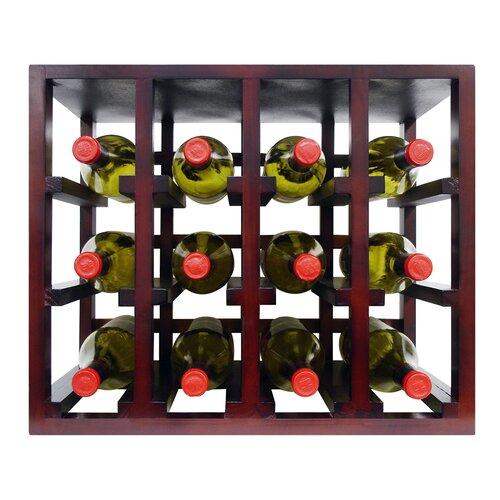 Epicureanist 12 Bottle Stackable Tabletop Wine Rack