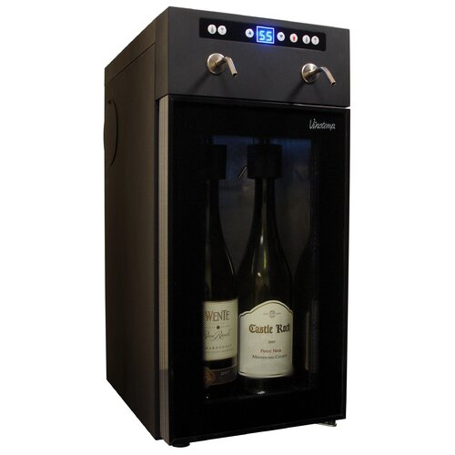 Vinotemp 2 Bottle Single Zone Wine Refrigerator
