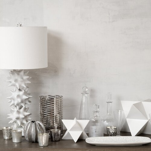 DwellStudio Sea Star Matte Silver Vase