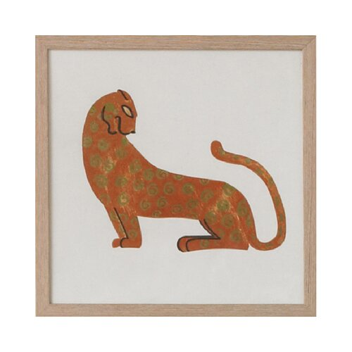 DwellStudio Leopard Artwork