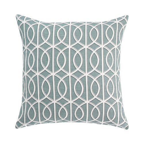 DwellStudio Gate Azure Pillow