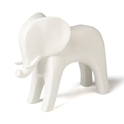 DwellStudio Elephant White Objet