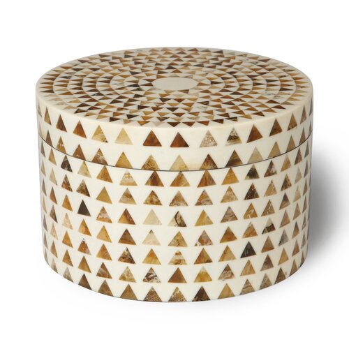 DwellStudio Triangle Stripe Boxes