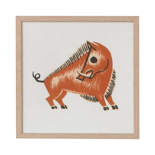 DwellStudio Boar Artwork