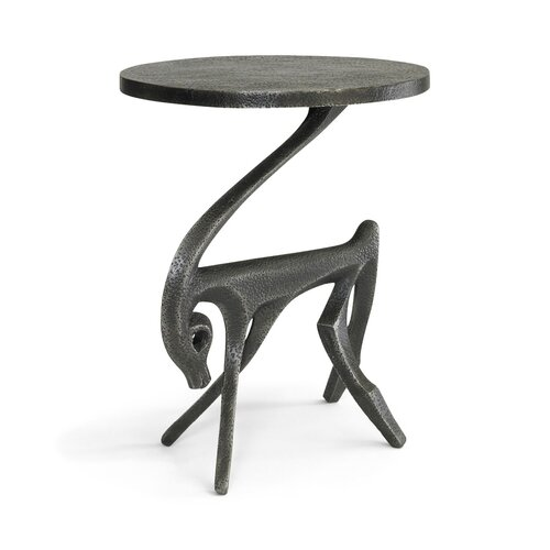 DwellStudio Gazelle Black Iron Side Table