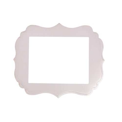 DwellStudio Ornate Blush Frame