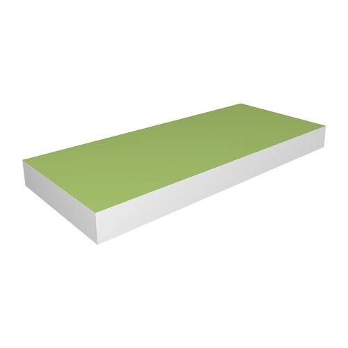 DwellStudio Lime Floating Medium Shelf